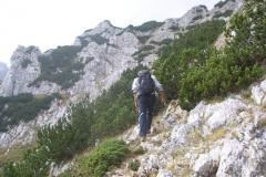 szlak bardzo przypomina nasze tarzańskie wędrowanie