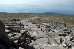 szlak słowacki prowadzący na szczyt Babiej Góry