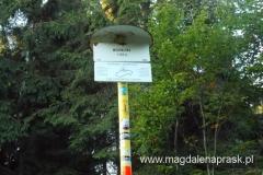 szczyt Mędralowa - słowacka tablica informacyjna
