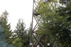 wieża widokowa na szczycie Mogielicy