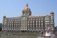 słynny luksusowy hotel Tadż Mahal
