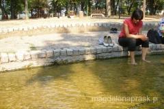moczenie stóp okazało się dla mnie największą atrakcją w Niskiej Banji