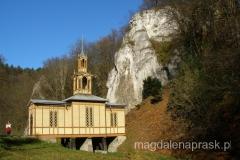 Kaplica na Wodzie - jest zbudowana dosłownie na wodzie