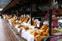 bazar na Krupówkach w Zakopanem