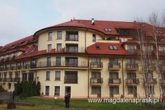 Hotel Ossa - macham z naszego balkonu