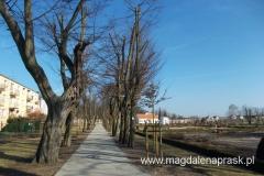 na tyłach klasztoru w Owińskach powstał pierwszy w Polsce i w Europie Park Orientacji Przestrzennej i Ogród Zabaw dla niewidomych