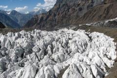 lodowiec niedaleko Bazy na Polanie Moskiwna