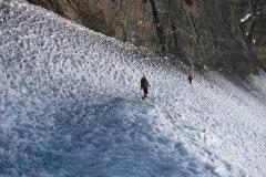 idziemy do Obozu 3 na 6.100m npm; spacer aklimatyzacyjny