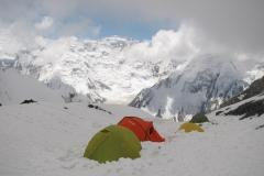 Obóz 1 wyższy na 5.300m npm