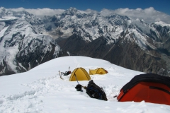 Obóz 2 na ok. 5.750m npm