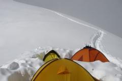 Obóz 4 na ok 6.300m npm