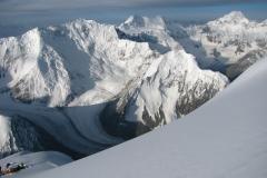 widoki z drogi na szczyt, Pamir