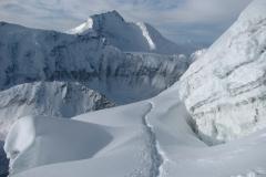 widoki z drogi na szczyt, Pik Komunizma, Pamir