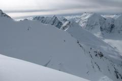w drodze na szczyt, Pamir