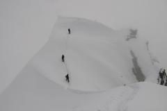 droga zejściowa ze szczytu Piku Korżeniewskiej