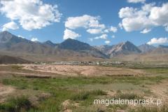kirgiski krajobraz na południu kraju