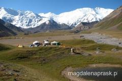 Achik Tasch - czyli polana, na której wszyscy stawiają obóz bazowy