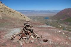 piramida znacząca bezimenną przełęcz