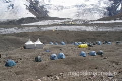 Obóz I założony przez agencję Ak Sai Travel