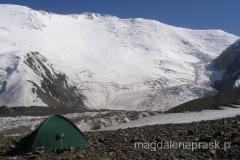 nasz namiot w Obozie I