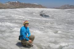 aklimatyzacyjny spacer po lodowcu