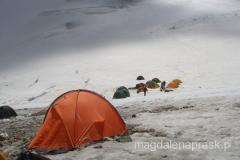 nasz namiot w Obozie II