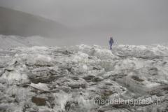 lodowiec pomiędzy Obozem I i Obozem II