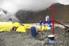 toaleta z widokiem - czyli jak to wygląda w Obozie I