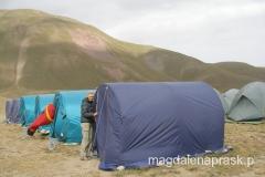 nasz namiot w Bazie