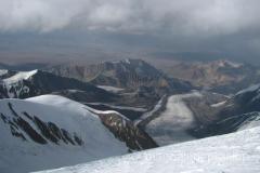 widoki na zejsciu ze szczytu
