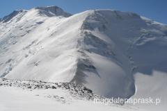 widoki na okolicę z Obozu III - tu na grań prowadzącą na szczyt