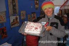 tort - prezent od agencji Ak Sai Travel - za zdobycie szczytu