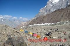 nasze namioty w bazie