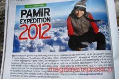 miło było poczytać w bazie notke z zapowiedzią PAMIR EXPEDITION 2012