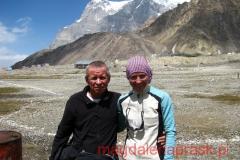 Sergiej Penzow z Rosji wspinał się w 1996r. na K2 z Krzysztofem Wielickim
