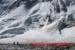 przekraczanie lodowca