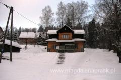 schronisko PTTK Chata Baców w Korbielowie - mieliśmy tu spać, ale niestety okazało się zamknięte