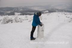 domniemany szczyt Pilska - Góra Pięciu Kopców