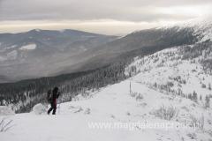 na trasie z Małej Babiej Góry na Babią Górę