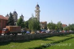 cerkiew Zwiastowania z XIXw. położona nad brzegiem