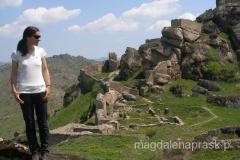 ruiny twierdzy należa do najlepiej zachowanych średniowiecznych fortec na Bałkanach