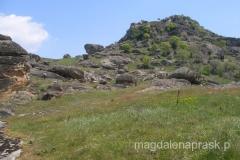 malownicze, skaliste wzgórza górują nad Prilep