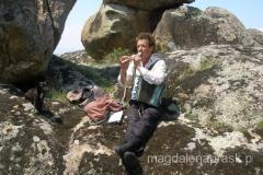 .... a potem zagrał na flecie