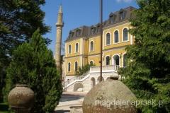 Muzeum Kosowa budynek z XIX, do końca lat 60tych XXw. słóżył armii jugosłowiańskiej