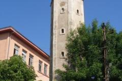 wieża zegarowa z XIXw.