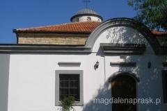 cerkiew św. Mikołaja - pięknie odnowiona na zewnątrz
