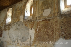 cerkiew została podpalona w 2004r. i niestety zniszczeniu uległo całe wnętrze, które do dziś nie zostało odrestaurowane