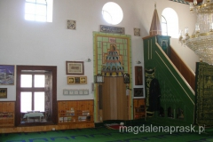 wnętrze meczetu Pirinaz z XVIw.