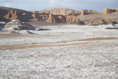 Valle de la Luna czyli Dolina Księżycowa na Pustyni Atacama - nazwa wyjątkowo trafnie opisuje tutejszy krajobraz
