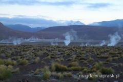 dymiące pole gejzerów del Tatio